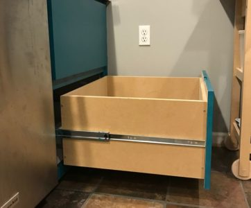 Custom 12″-Deep Kitchen Drawer