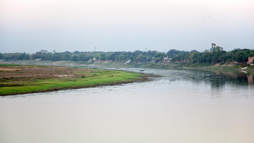 The Mahananda River in Chapai Nawabganj